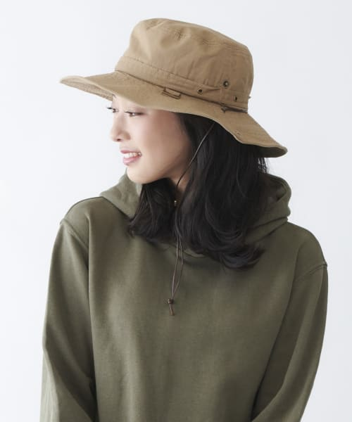 MILSA WASHED ADVENTURE HAT
