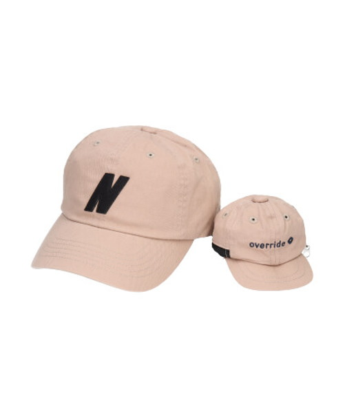 override INITIAL CAP+POUCH-CT【N】