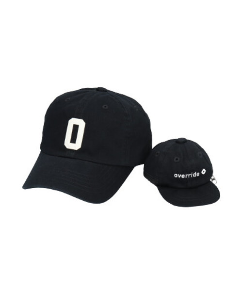 override INITIAL CAP+POUCH-CT【O】