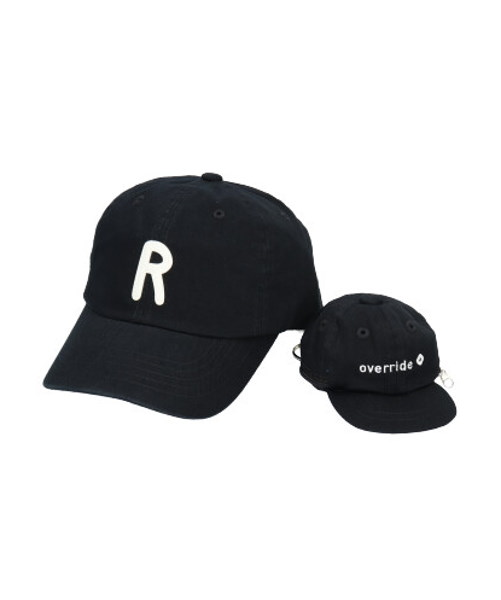 override INITIAL CAP+POUCH-CT【R】