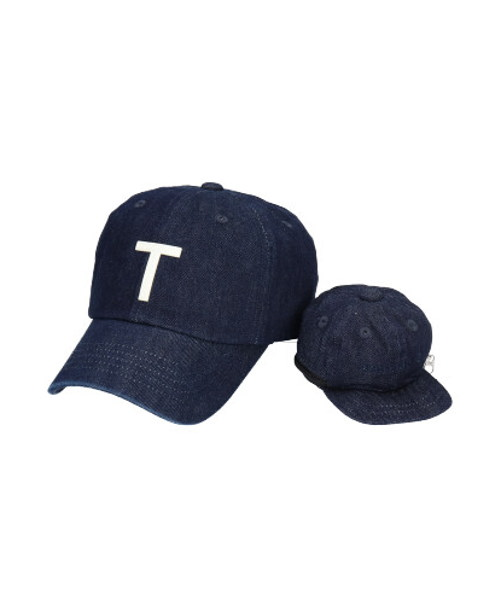 override INITIAL CAP+POUCH-CT【T】