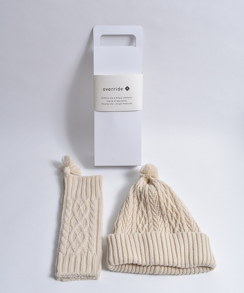override Cable KNIT SET