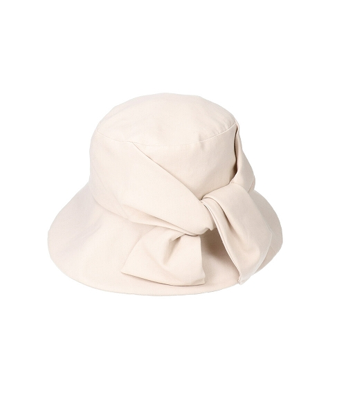 【予約】override Linen Ribbon Hat