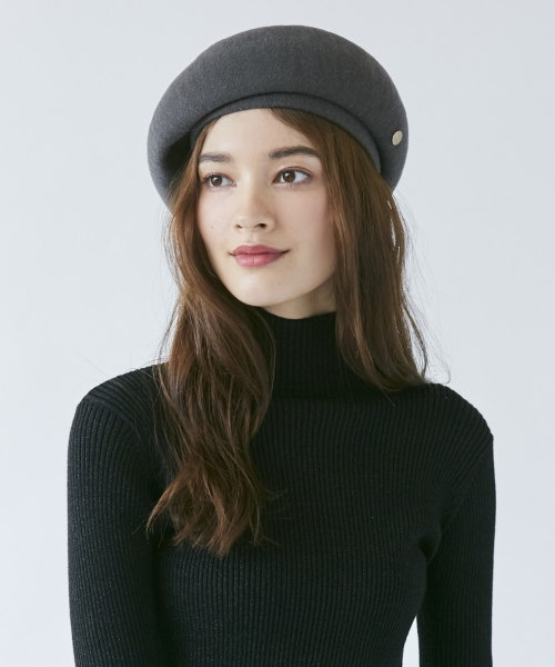 【予約】Chapeau d' O EMB Ribbon TH Beret