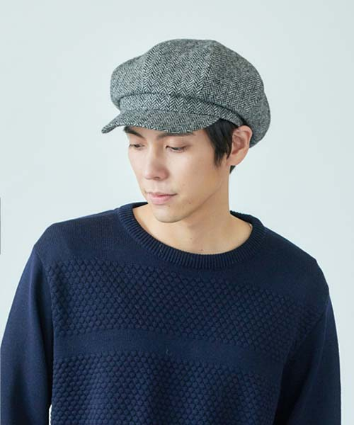 override MOON TWEED CASQUETTE