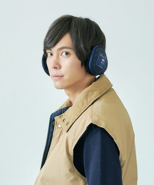 override MOON TWEED EARMUFF