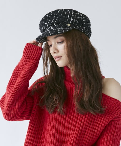 【予約】Chapeau d' O Tweed Hunting