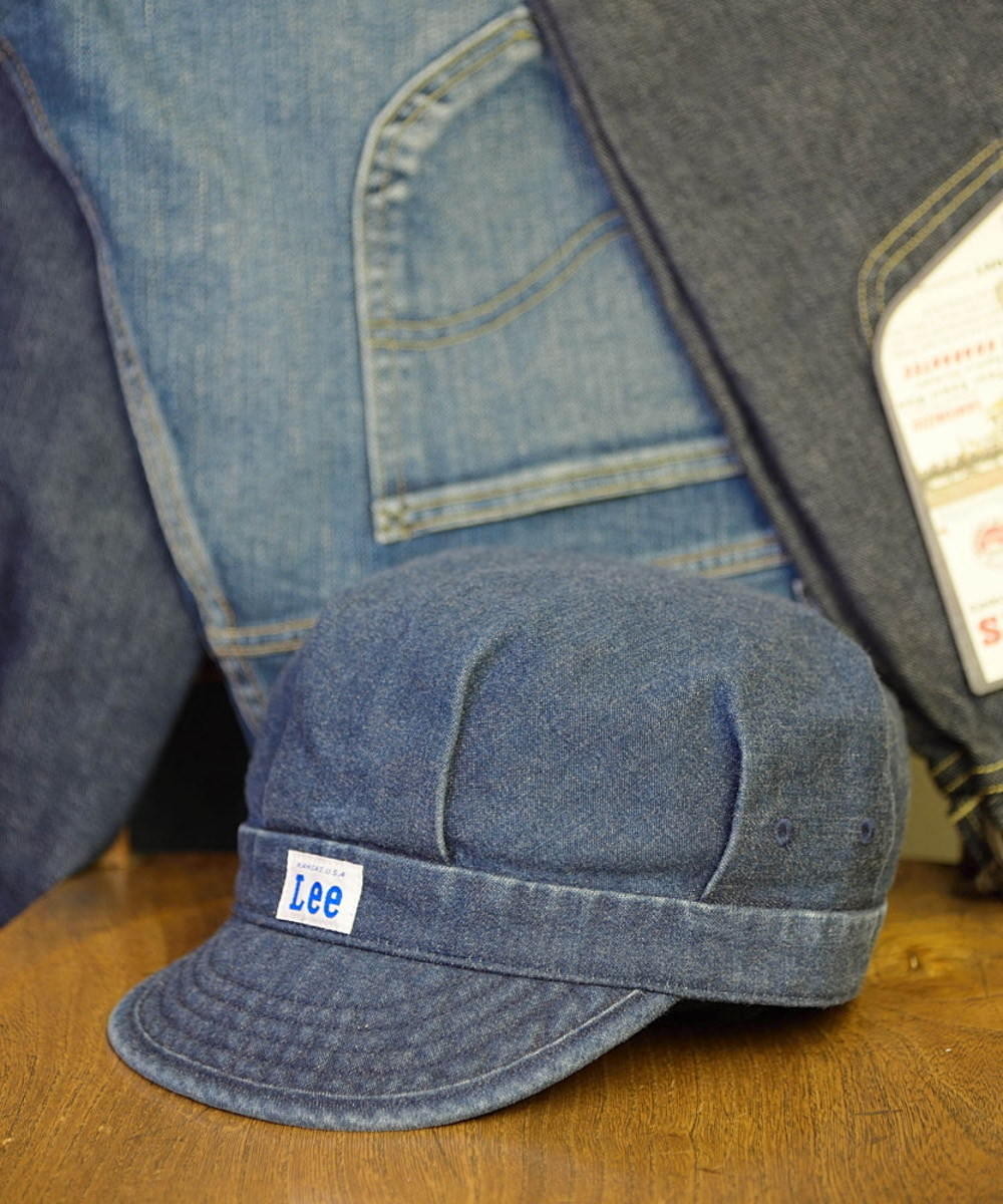 Lee RAILROAD CAP DENIM