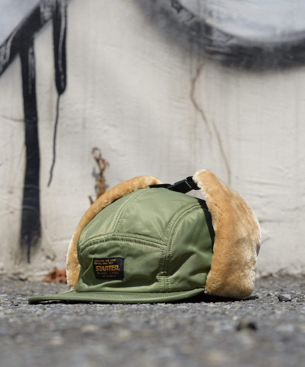 STARTER MILITARY LABEL EARFLAP CAP